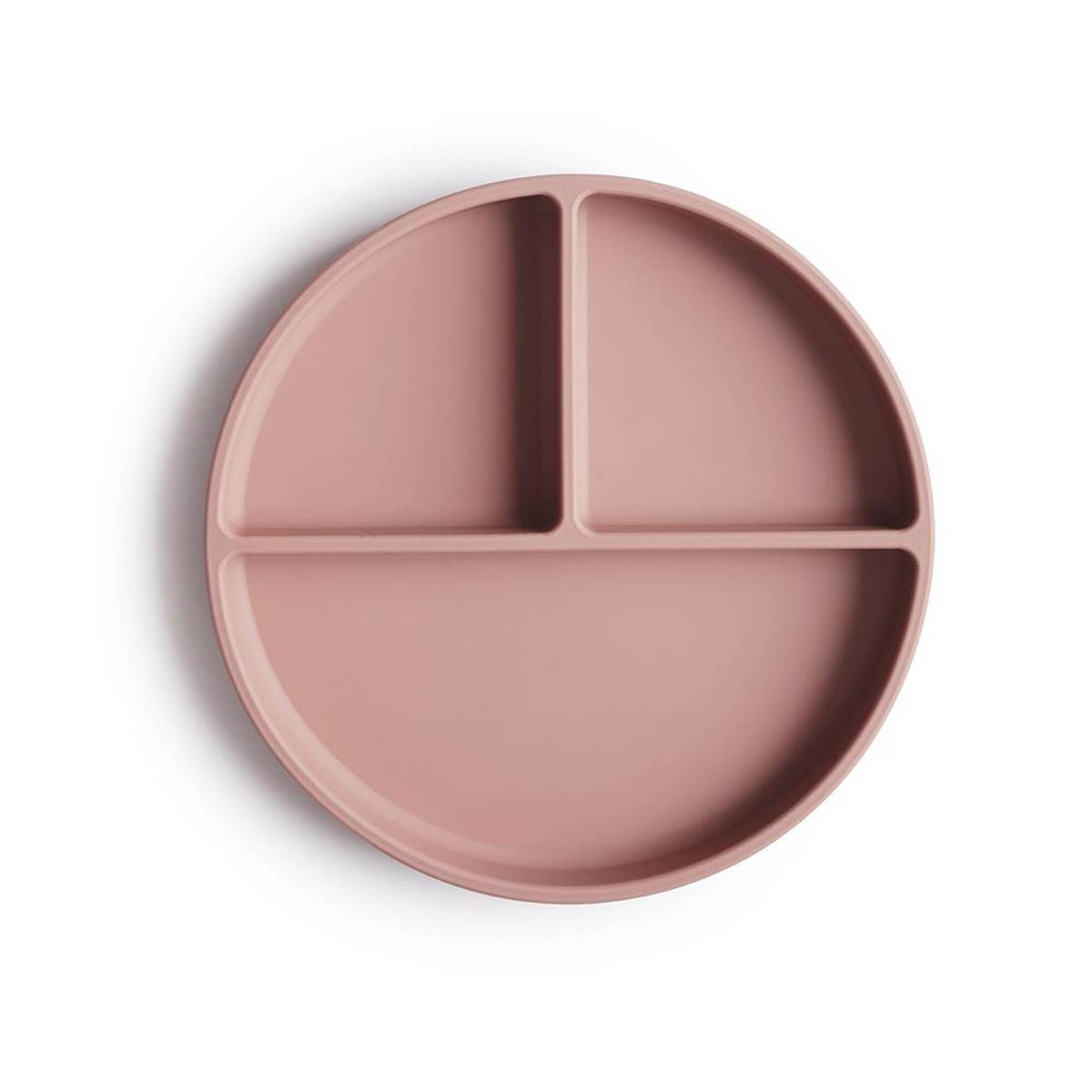Tallerken - Silikon med Sugefunksjon - Mushie - Blush
